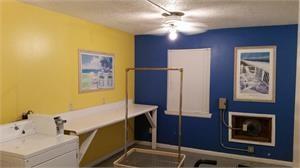 Bright Cheery Laundry room